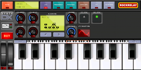 Rockrelay Synth DX7 2 1 + (AdFree) APK for Android