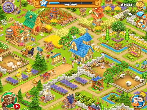 Village and Farm