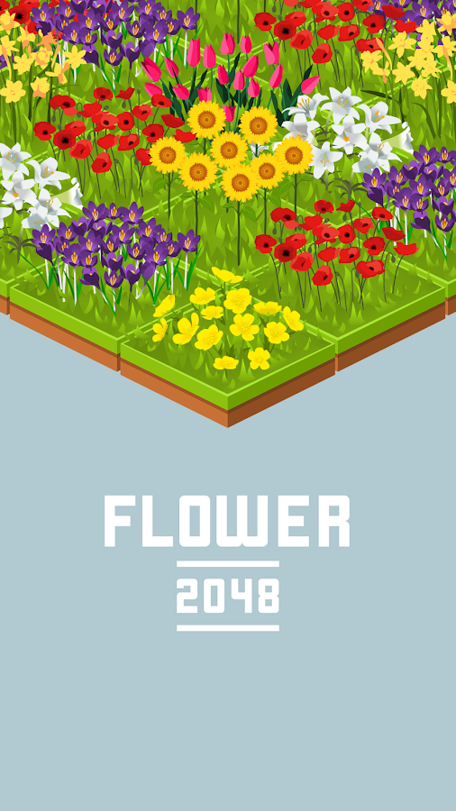 Flower 2048- screenshot