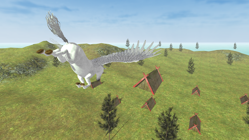 Flying Unicorn Simulator Free screenshot 16