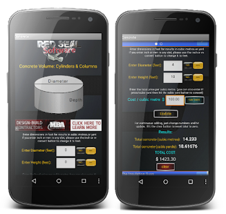 concrete calculator free android apps on google play