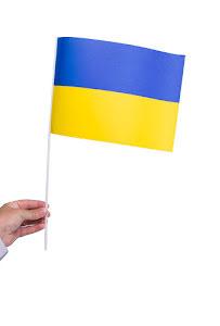 Pappersflagga, Ukraina