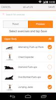 Screenshot of Sworkit Pro - Custom Workouts