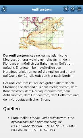 android Sea currents Screenshot 1