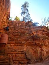 Photo: Sturdy trail construction