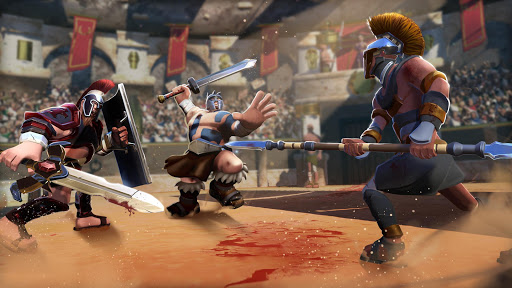Gladiator Heroes Clash: Fighting and strategy game  screenshots 8