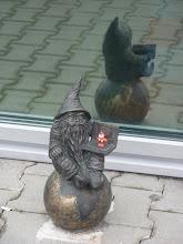 Photo: Breslau, Einer der allgegenwärtigen Zwerge