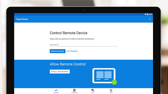 TeamViewer for Remote Control Capture d'écran
