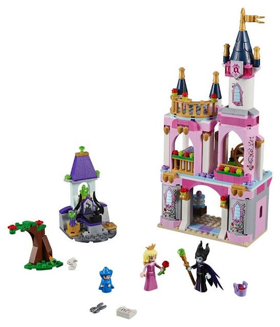 Contenido de Lego® 41152 Castillo de Cuento de la Bella Durmiente