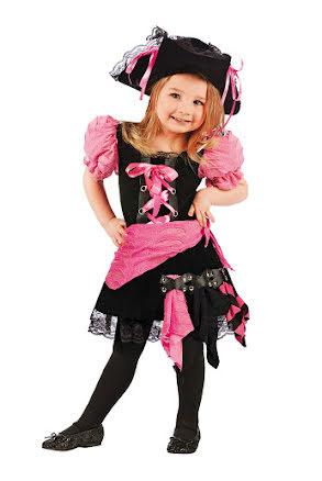 Punk pirat, barndräkt