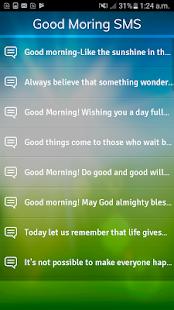 Good Moring Sms 2017 - náhled