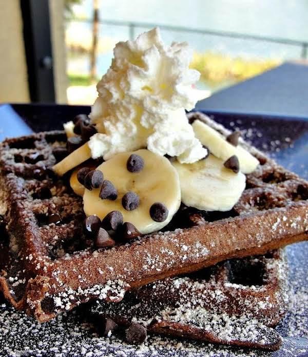 Chocolate Brunch Waffles