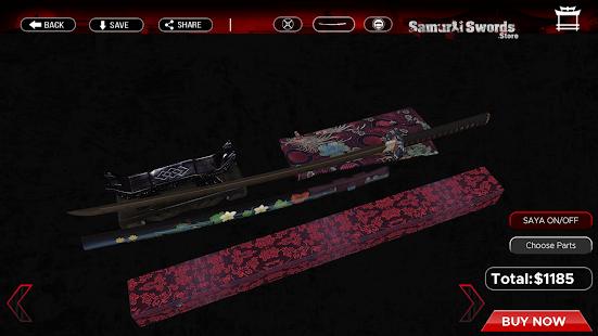 Samurai Swords Store - Create Your Custom Katana - náhled