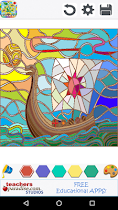 Stained Glass Coloring Book - screenshot thumbnail 02