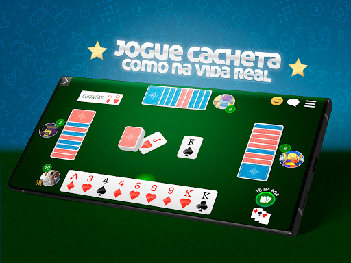 Cacheta Gin Rummy Online  screenshots 6