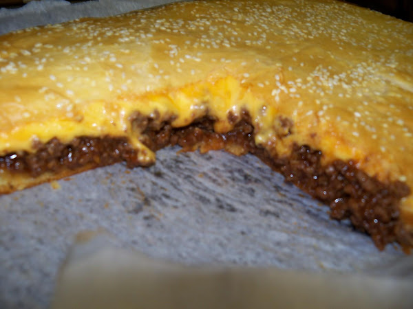 Bbq Cheeseburger Crescent Pie Recipe