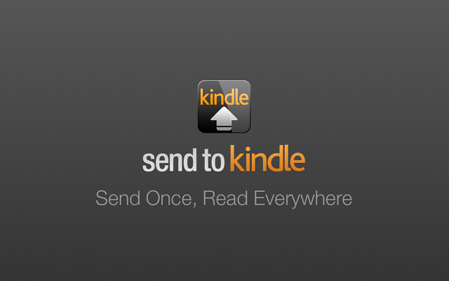 Send to Kindle for Google Chrome