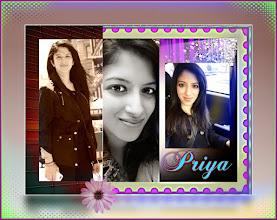 Photo: the beautiful Priya Sandhir will conduct the Kid's Fashion Show and help Geeta Gupta in welcoming the guests