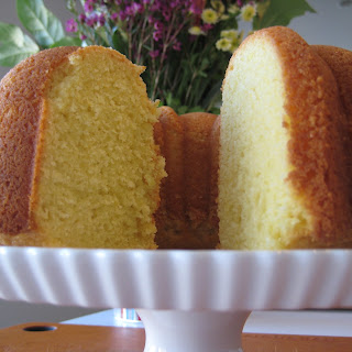 Lady Bird Johnson's Lemon Bundt Cake.