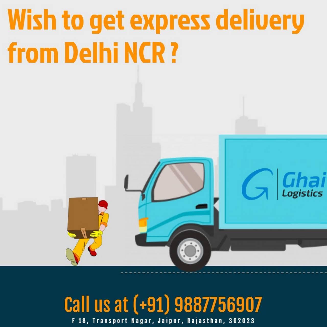 Ghai Logistics Company Jaipur - Transportation Service in Jaipur