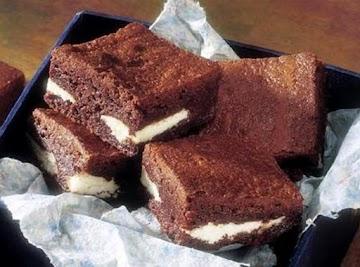 York Sensational Peppermint Pattie Brownies Recipe