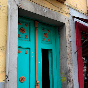 old door by Cristobal Garciaferro Rubio - Buildings & Architecture Other Exteriors ( pwcopendoors, mexico, puebla )