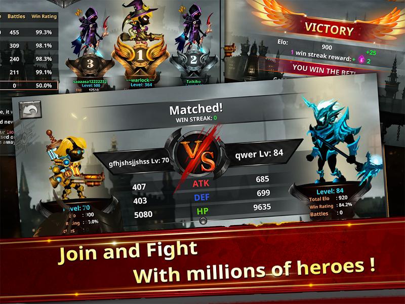 Stickman Legends - Ninja Warriors: Shadow War Screenshot 3