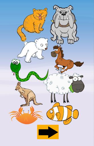 動物的叫聲為孩子們