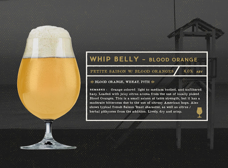 Logo of Gunwhale Ales Whip Belly - Blood Orange