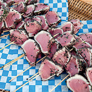 Black Sesame Seared Tuna Recipe