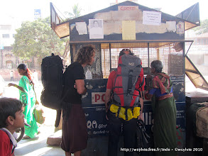 Photo: Hampi - Badami (gare routière)