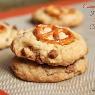 Cinnamon Chip Pretzel Cookies.