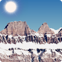 Mountain Live Weather LWP icon