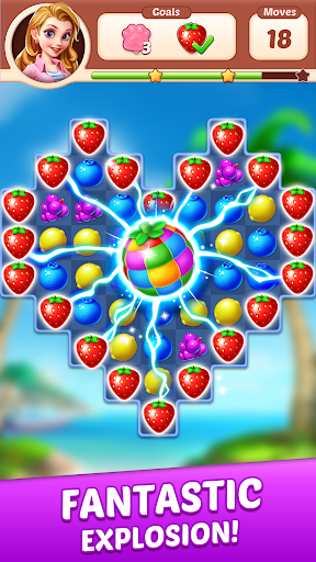 Fruit Genies - Match 3 Puzzle Games Offline apkslow screenshots 19