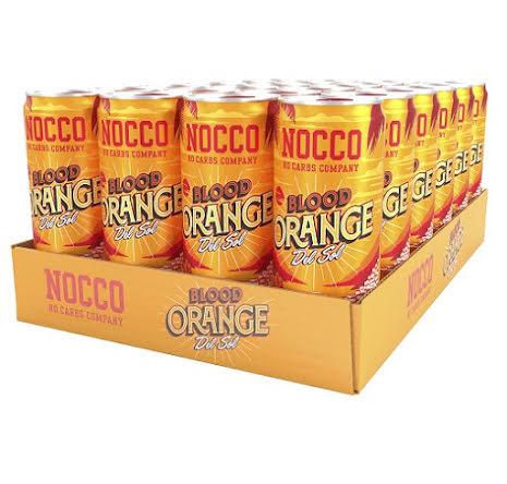 Nocco BCAA 24 x 330ml - Blood Orange Del Sol