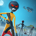 City Stickman Zombie Dead Hunter Survival icon
