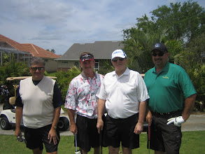 Photo: Dennis Micare's group: Peter, Warren, Steve