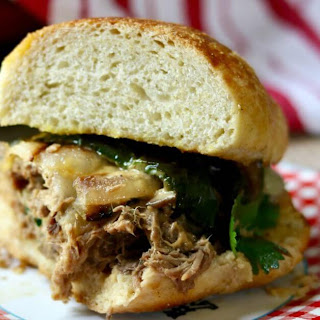 Slow Cooker Steak Sandwiches.