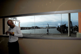 Photo: Eric i finestra llotja