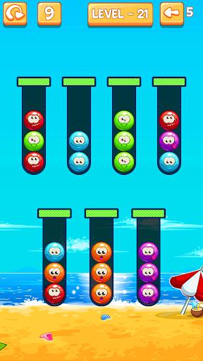 Emoji Sort: Color Puzzle Game screenshot 9