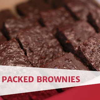 Protein Packed Brownies.