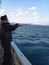 Photo: 「こらーっ!タコ船頭!きたぞー!」 ・・・タコって。