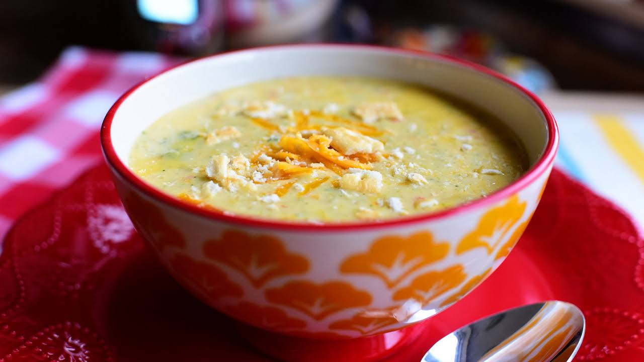 Velveeta Broccoli Cheese Soup Recipe