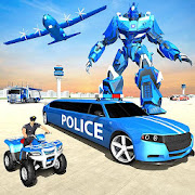 US Police Limousine Car Robot Quad Bike Transport