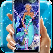 Mermaid lock screen