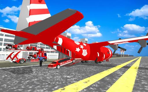 US Police Quad Bike Car Transporter Games 1.0.2 screenshots 14