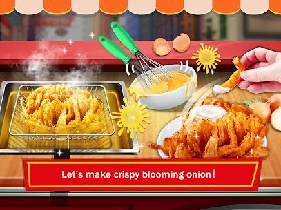 Street Food: Deep Fried Foods Maker Cooking Games 2