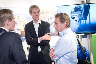 Photo: The exhibition was a lively, busy place, where lots of new contacts were made.
