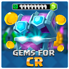 Free gems for CR 2018 - Prank icon