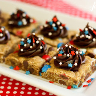 Melanie's Monster Cookie Bars {for the 4th of July!}